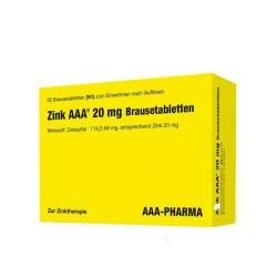 Zink AAA® 20mg 20 Brausetbl.