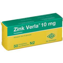 Zink Verla® 10mg 50 Filmtbl.