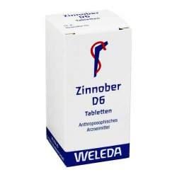 Zinnober D6 Weleda 80 Tbl.