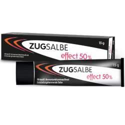 Zugsalbe effect 50 % 15 g
