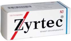 Zyrtec® 10 mg 100 Filmtabletten