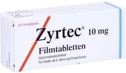 Zyrtec® 10 mg 20 Filmtabletten