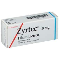 Zyrtec® 10 mg 50 Filmtabletten